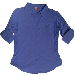 lucy Casual Yoga Active Hiking Outdoor Top Periwinkle
