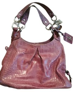 Coach Large Tote in Purple