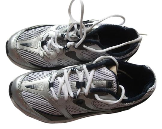 Dr. Scholl's silver Athletic