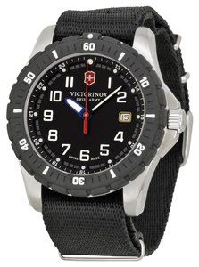 Victorinox Swiss Army Men's Silver Analog Watch 241674.1