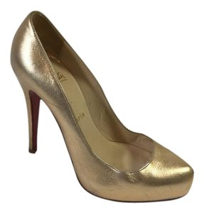 Christian Louboutin Metallic gold Pumps