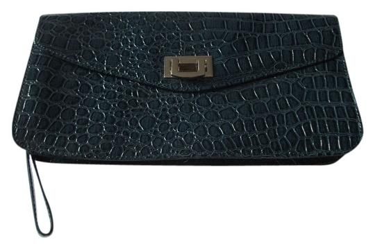 New York & Company teal Clutch