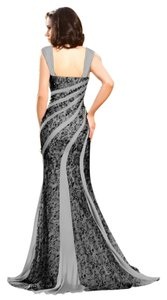 MM Couture Silk Pleated Embellished Dress