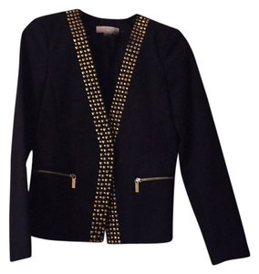 Michael Kors Black- gold detail Blazer