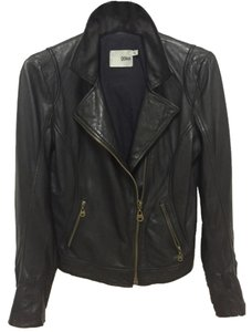 DOMA Blackk Leather Jacket
