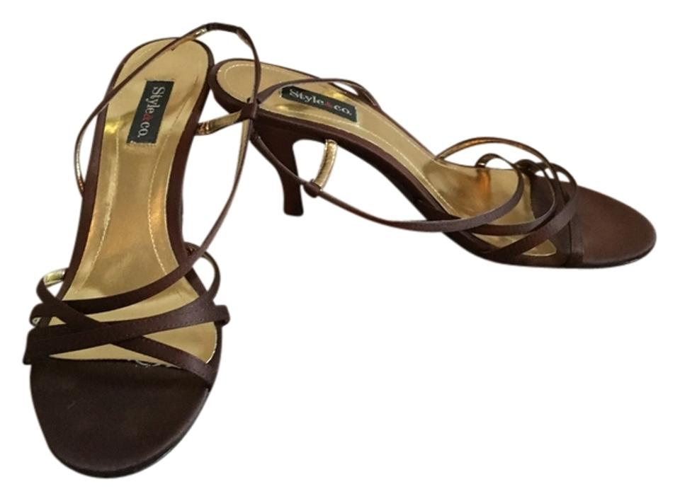 Style & Shoes Co Brown Heal Formal Shoes & 497c4d