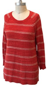 Madewell Soft Linen/silk Blend Striped Sweater