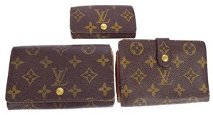 Louis Vuitton Lot of 3 Wallets