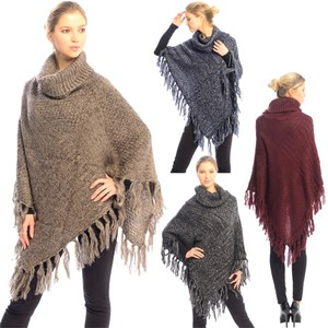 Free Shopping NEW' PONCHO BLACK JP221
