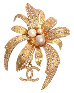 Chanel Orchid Runway Pin