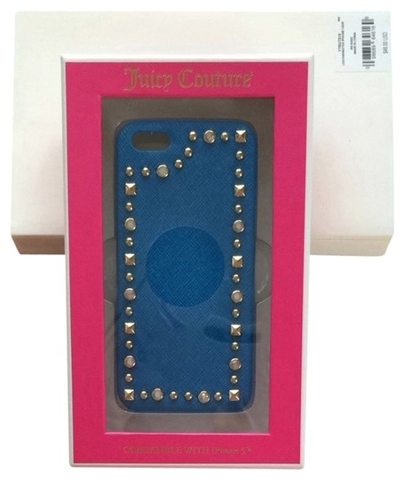 Juicy Couture Juicy Couture Leather Studded IPhone 5 Hard Case