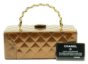 Chanel Quilted Cosmetic Case CCAV332