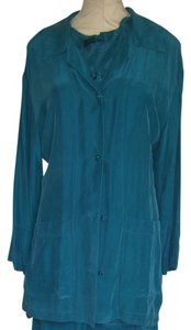 CAROLE LITTLE Top BLUE JADE