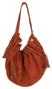 Big Buddha Suede Studded Handbag Tassels Hobo Bag