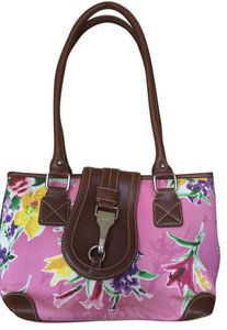 Chaps Tote in Pink flowers