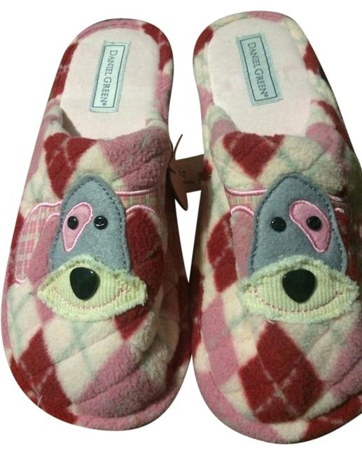 Item - Pink and Red Slippers