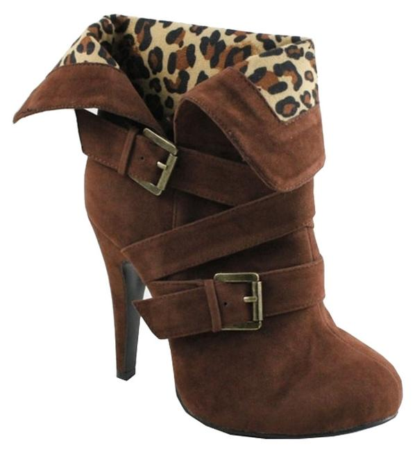 Item - Brown Tequila Boots/Booties Size US 6.5