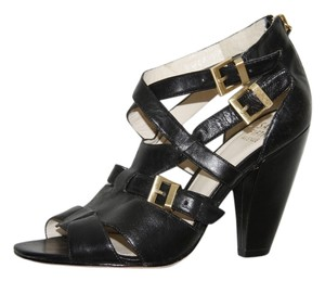 Saks Fifth Avenue High Heels Strappy Sexy black Sandals