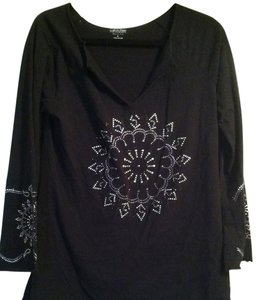 Calvin Klein T Shirt black with embellishments