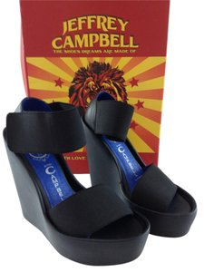 Jeffrey Campbell Black Wedges