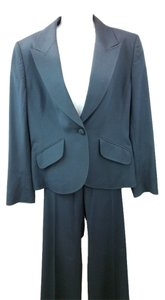 Ellen Tracy ELLEN TRACY HANDSTITCHED DETAIL WOOL PANT SUIT 10