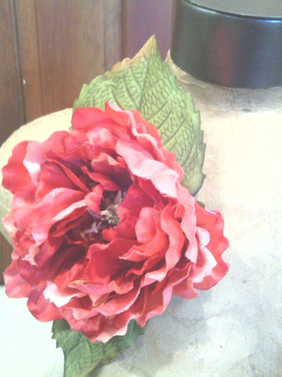 Other Pink Peony Flower Pin (Magnet)