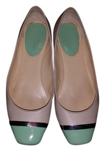 Calvin Klein Two-tone Mint/Grey Flats