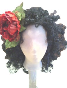 Other Red Peony Flower Headband