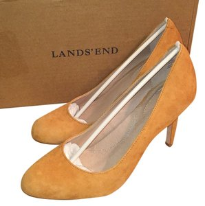 Lands' End Sweet Potato Pumps