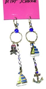 Betsey Johnson Nautial dangle earrings