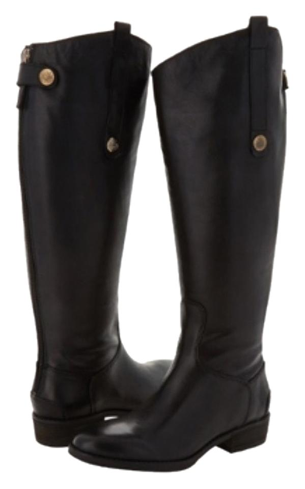 be16924dce9d Sam Edelman Black Penny Riding Boots Booties. Size  US 7.5 Regular (M ...