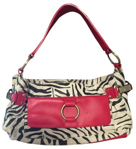 Paradox Leather Satchel in Zebra