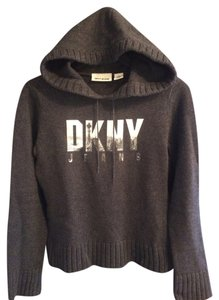 DKNY Crop Hooded Sweater