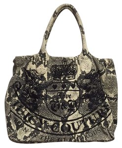 Juicy Couture Tote in Grey/White