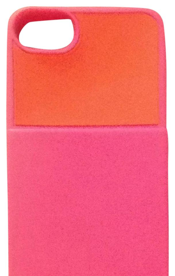 Kate spade pink and orange iphone 5 silicone phone caseid business kate spade kate spade iphone 5 silicone phone caseid business card holder colourmoves
