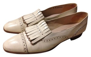 Bally Rare Limited Edition White Flats