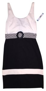 Alice + Olivia short dress Black/White on Tradesy