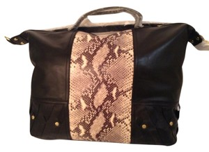 Twelfth St. by Cynthia Vincent Satchel in Black, Python