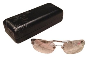 Versace Silver Mirrored Vintage Versace Sunglasses