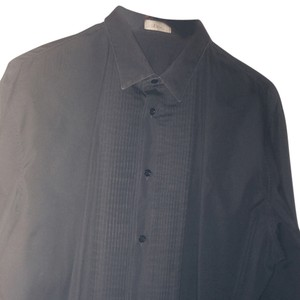 Dior Tuxedo Homme Button Down Shirt BLACK