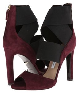 Diane von Furstenberg Dvf Prune and black Platforms