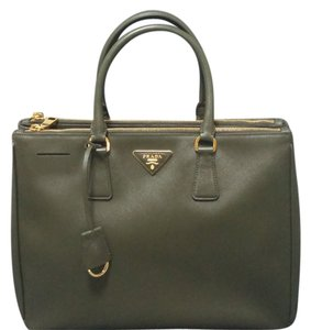 Prada Tote in Military