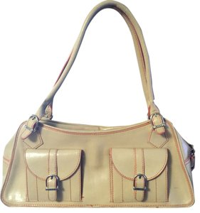 Maxx New York Leather Double Strap Shoulder Bag