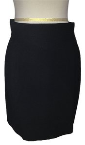 Dior Christian Slim Skirt Black
