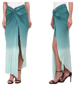 Young Fabulous & Broke Maxi Skirt Green