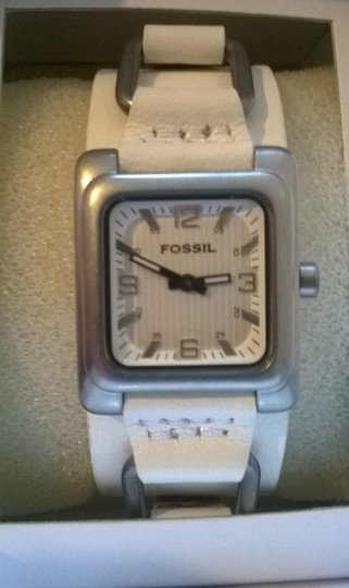 Fossil Fossil Leather Strap Watch / JR-9720