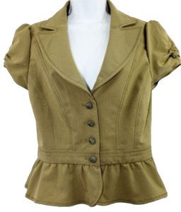 Arden B. Top OLIVE GREEN