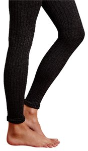 Anthropologie New With Tags Heathered Very Dark Green and Black Called: Holly Leggings