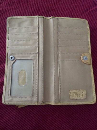 Fossil Fossil wallet yello, leather