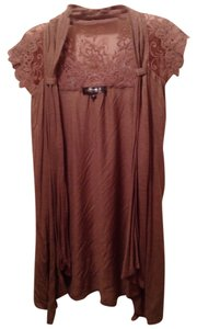Mandee Top Mauve/Light Brown